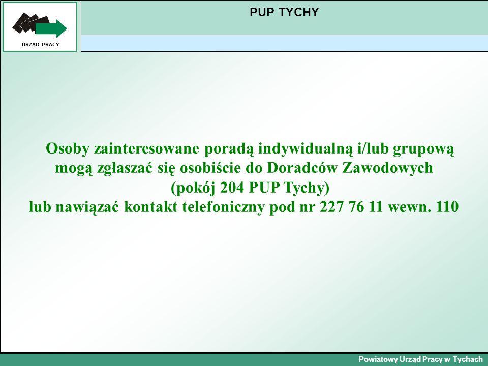 Powiatowy Urząd Pracy w Tychach