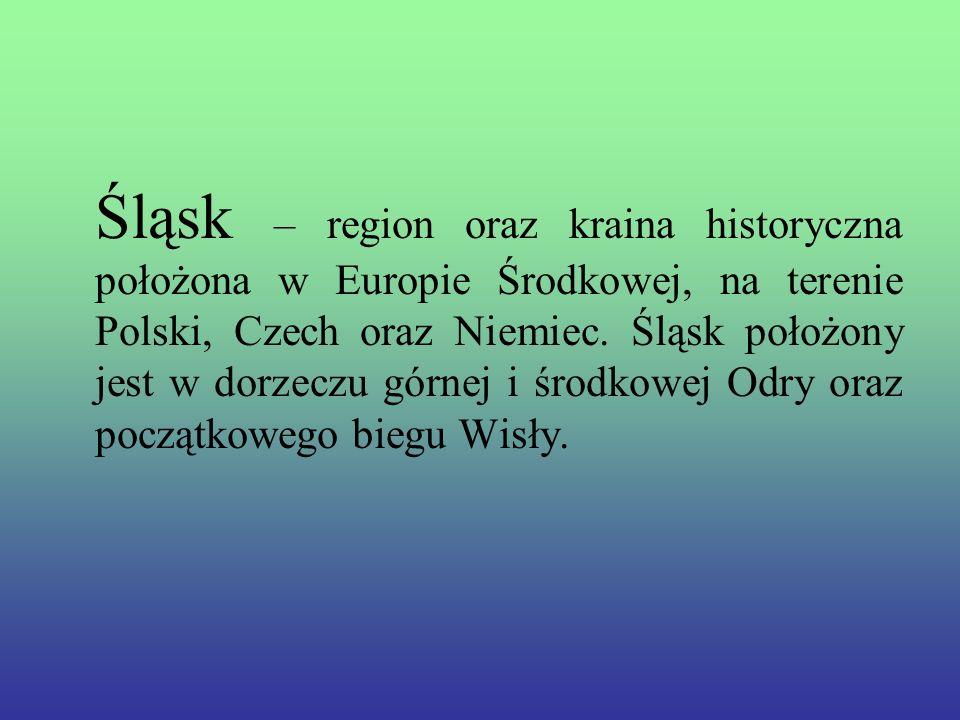 Śląsk – region oraz kraina historyczna położona w Europie Środkowej, na terenie Polski, Czech oraz Niemiec.