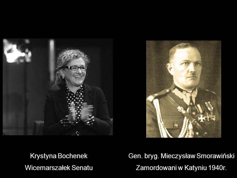 Gen. bryg. Mieczysław Smorawiński Zamordowani w Katyniu 1940r.