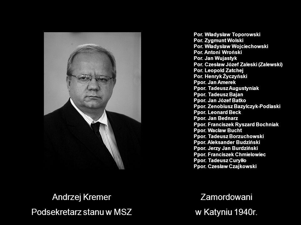 Podsekretarz stanu w MSZ