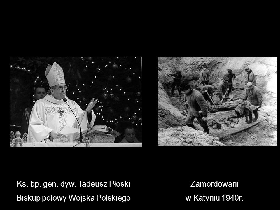 Ks. bp. gen. dyw. Tadeusz Płoski Biskup polowy Wojska Polskiego