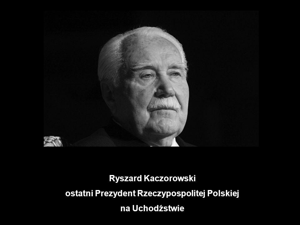ostatni Prezydent Rzeczypospolitej Polskiej