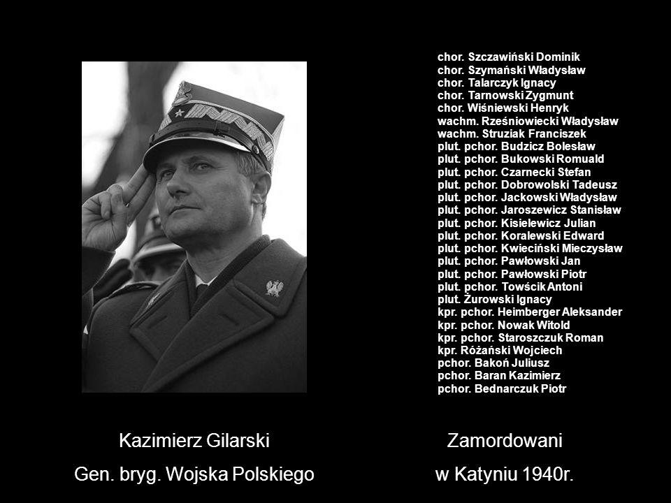 Gen. bryg. Wojska Polskiego
