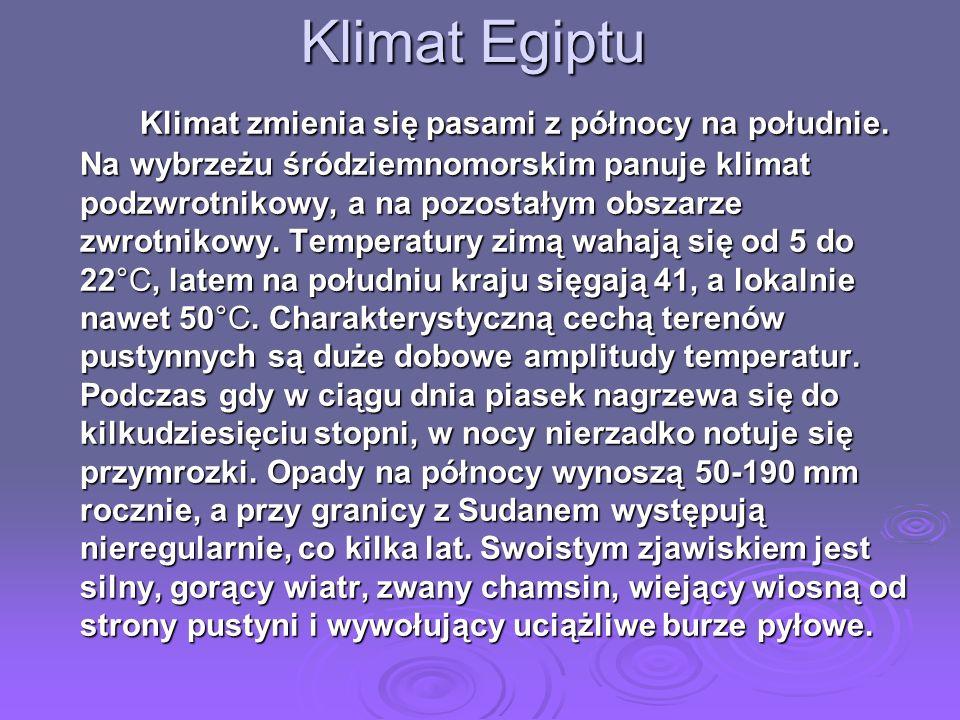 Klimat Egiptu