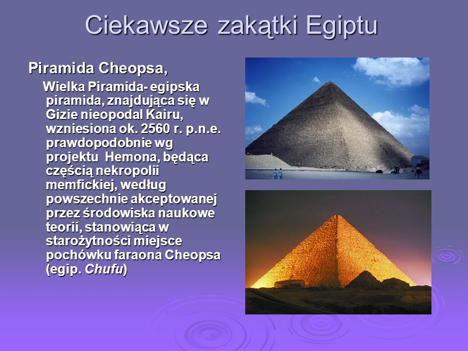 Ciekawsze zakątki Egiptu