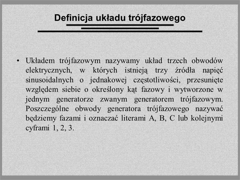 Definicja układu trójfazowego