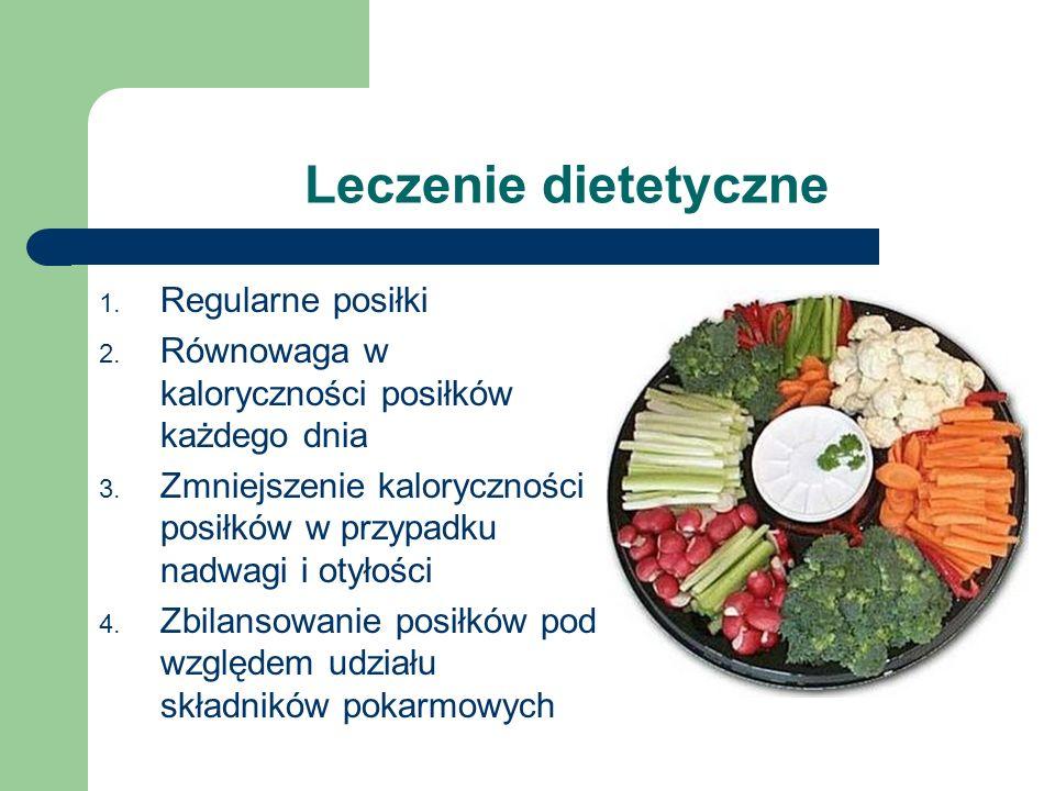 Leczenie dietetyczne Regularne posiłki