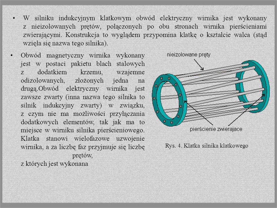 Rys. 4. Klatka silnika klatkowego