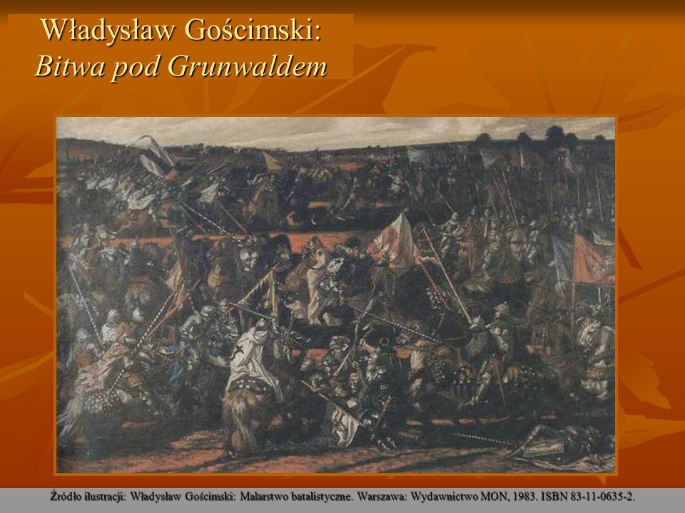 Władysław Gościmski: Bitwa pod Grunwaldem