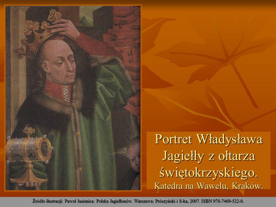Portret Władysława Jagiełły z ołtarza świętokrzyskiego