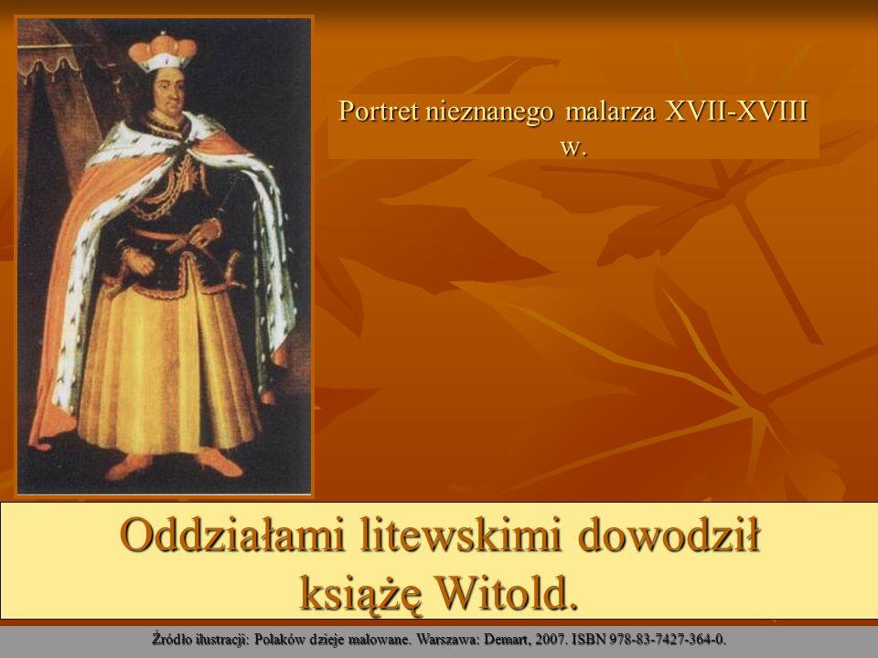Portret nieznanego malarza XVII-XVIII w.