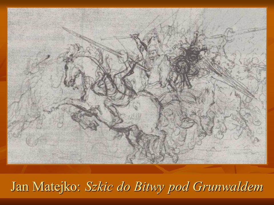 Jan Matejko: Szkic do Bitwy pod Grunwaldem