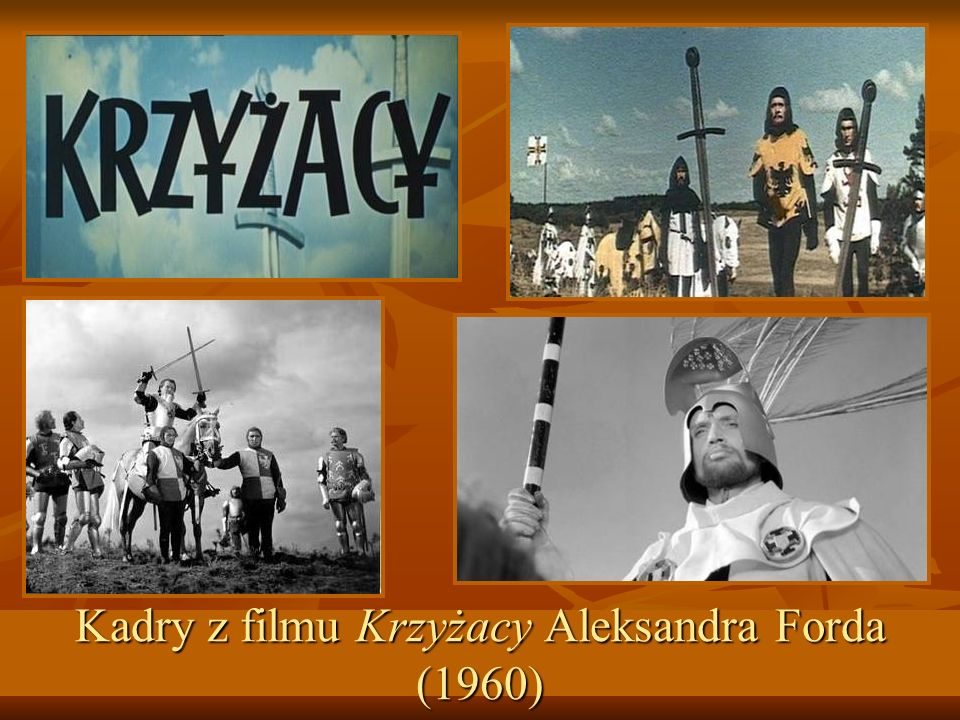 Kadry z filmu Krzyżacy Aleksandra Forda (1960)