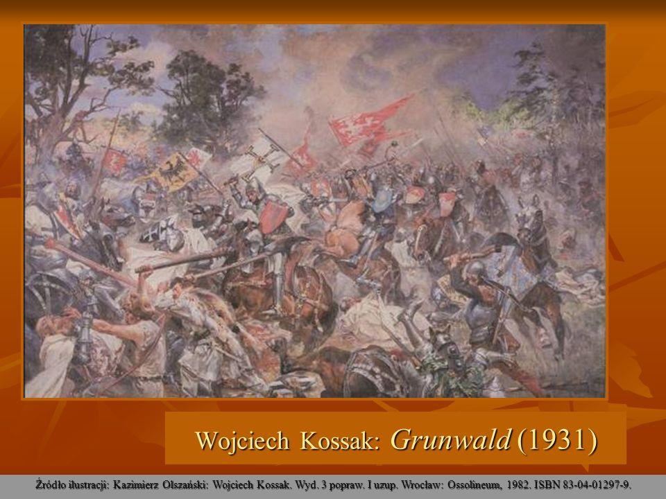 Wojciech Kossak: Grunwald (1931)