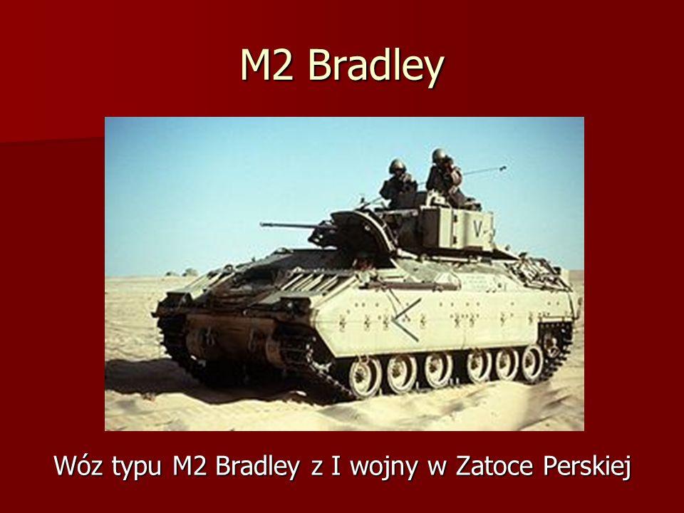 Wóz typu M2 Bradley z I wojny w Zatoce Perskiej