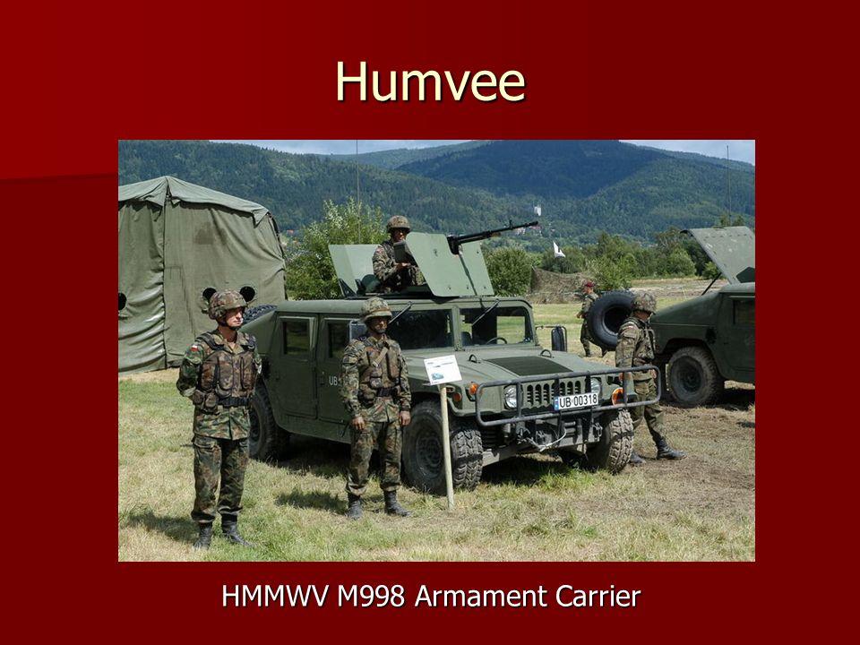 HMMWV M998 Armament Carrier