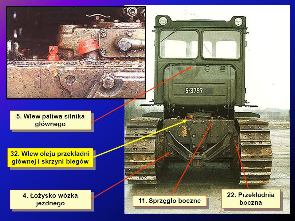 5. Wlew paliwa silnika głównego