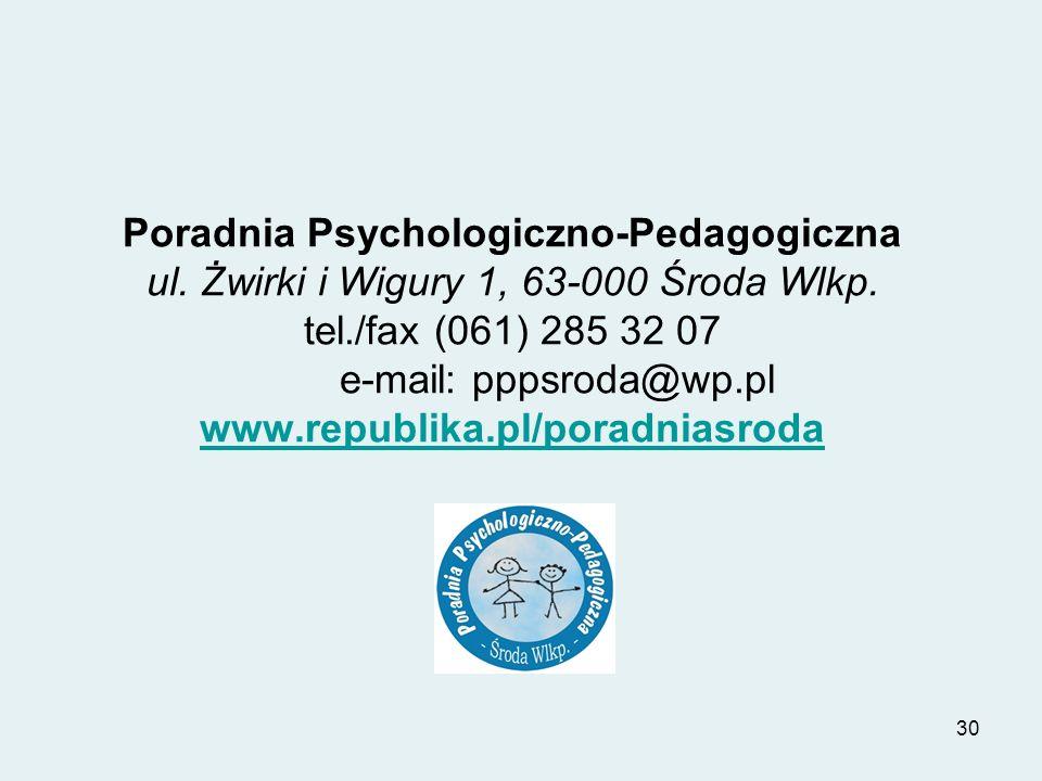Poradnia Psychologiczno-Pedagogiczna ul