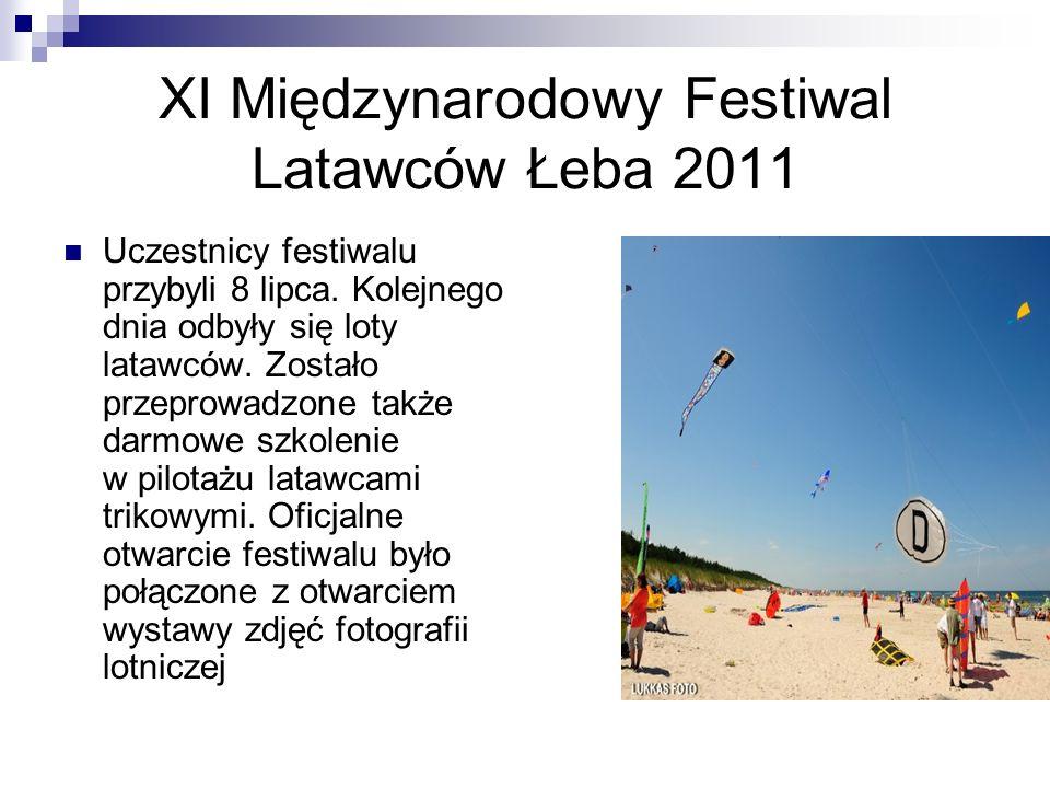 XI Międzynarodowy Festiwal Latawców Łeba 2011
