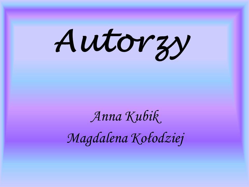 Anna Kubik Magdalena Kołodziej