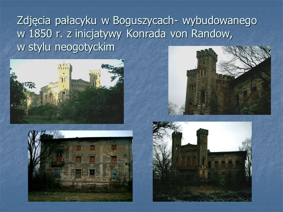 Zdjęcia pałacyku w Boguszycach- wybudowanego w 1850 r