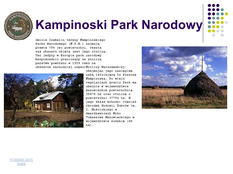Kampinoski Park Narodowy