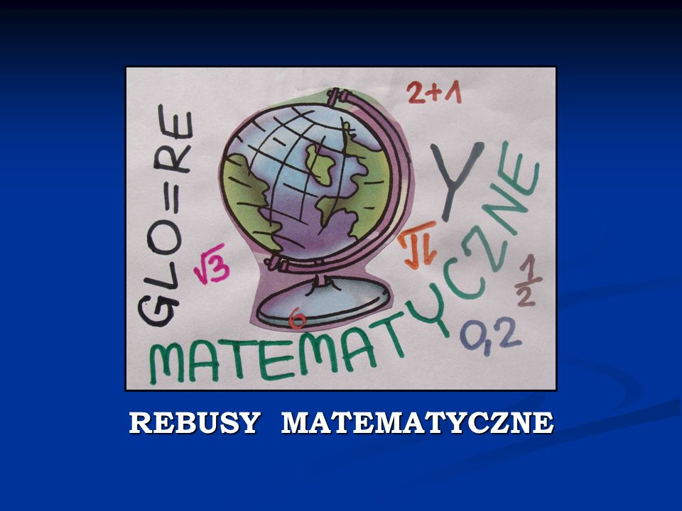 REBUSY MATEMATYCZNE