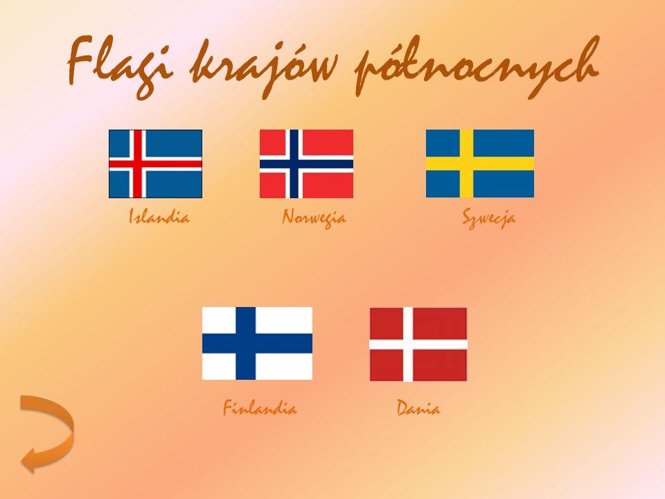 Flagi krajów północnych