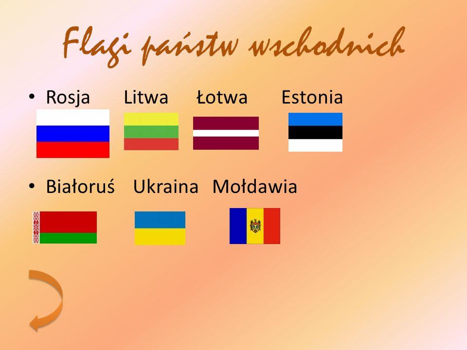 Flagi państw wschodnich