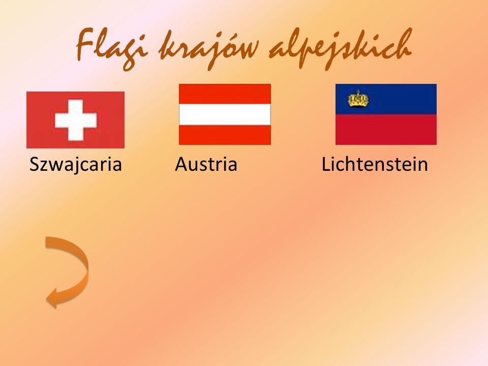 Flagi krajów alpejskich