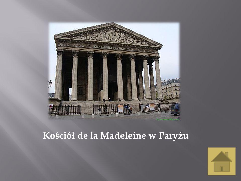 Kościół de la Madeleine w Paryżu