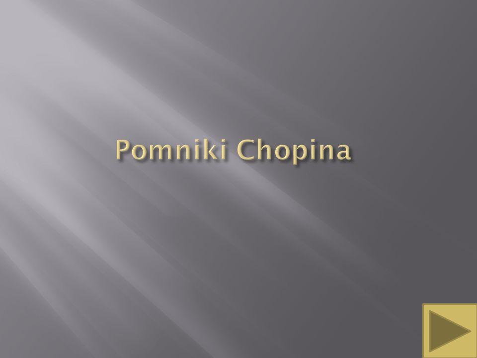 Pomniki Chopina