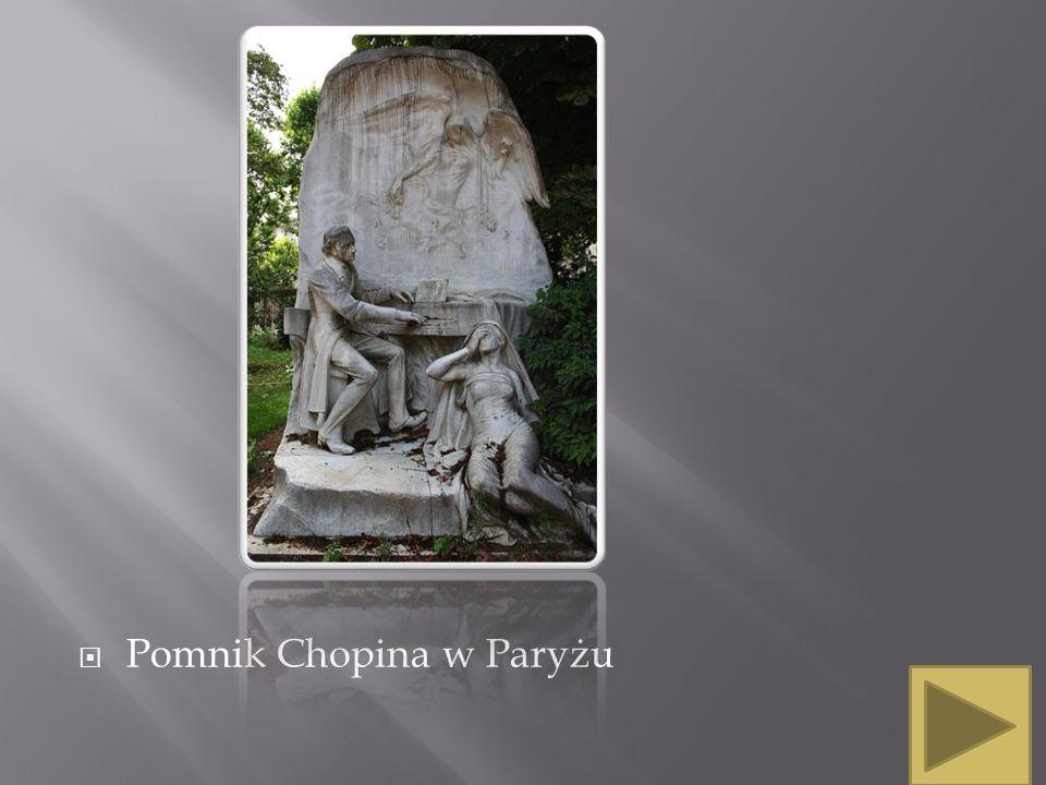 Pomnik Chopina w Paryżu