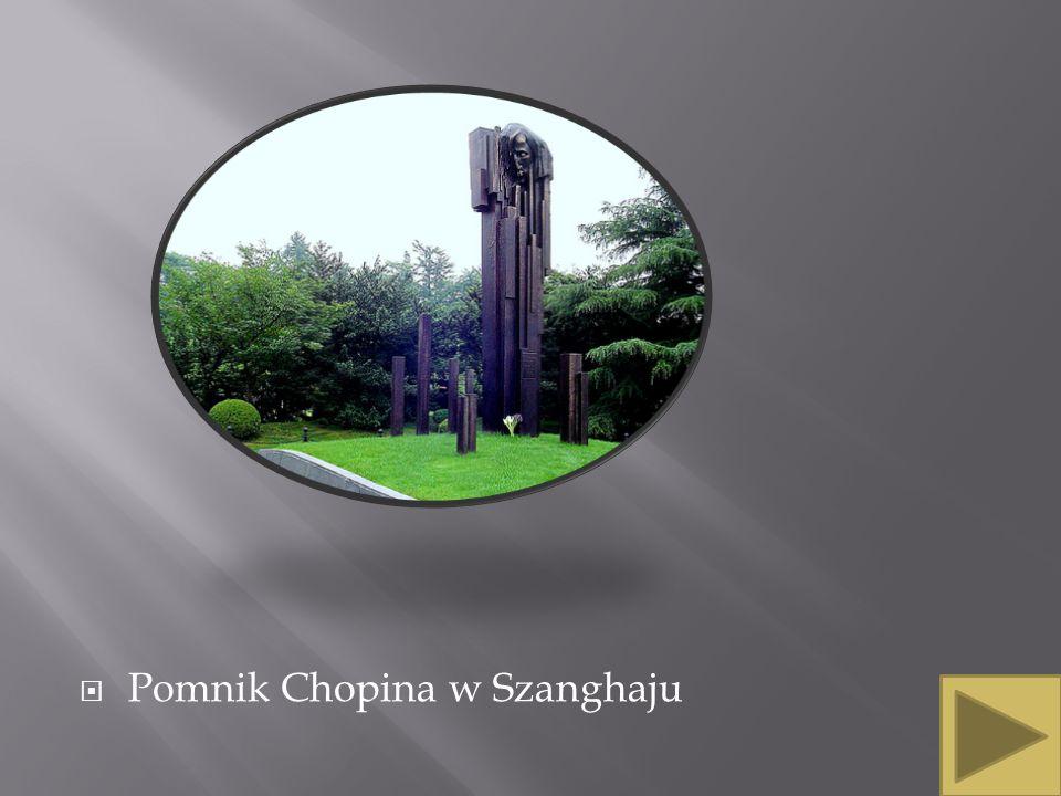 Pomnik Chopina w Szanghaju