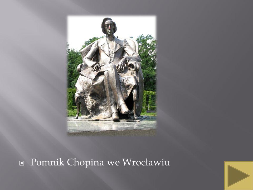 Pomnik Chopina we Wrocławiu