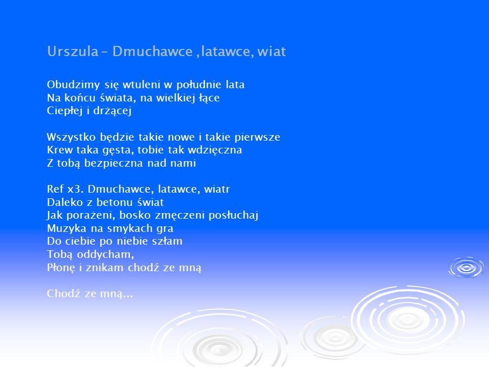 Urszula – Dmuchawce ,latawce, wiat
