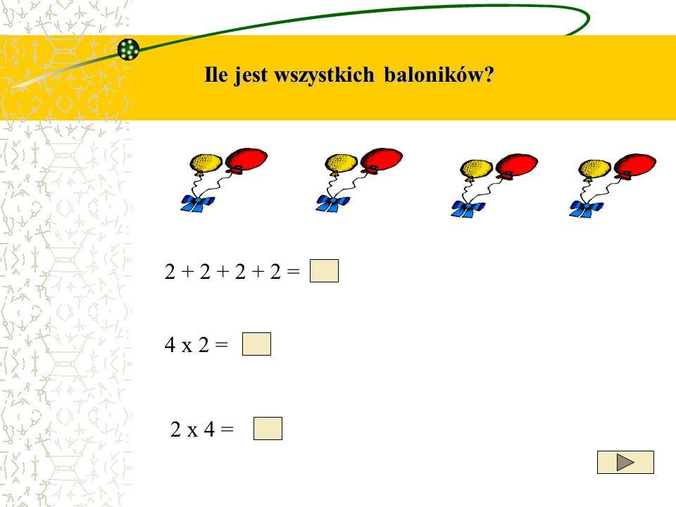 Ile jest wszystkich baloników