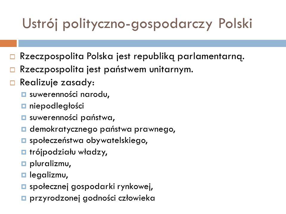 Ustrój polityczno-gospodarczy Polski