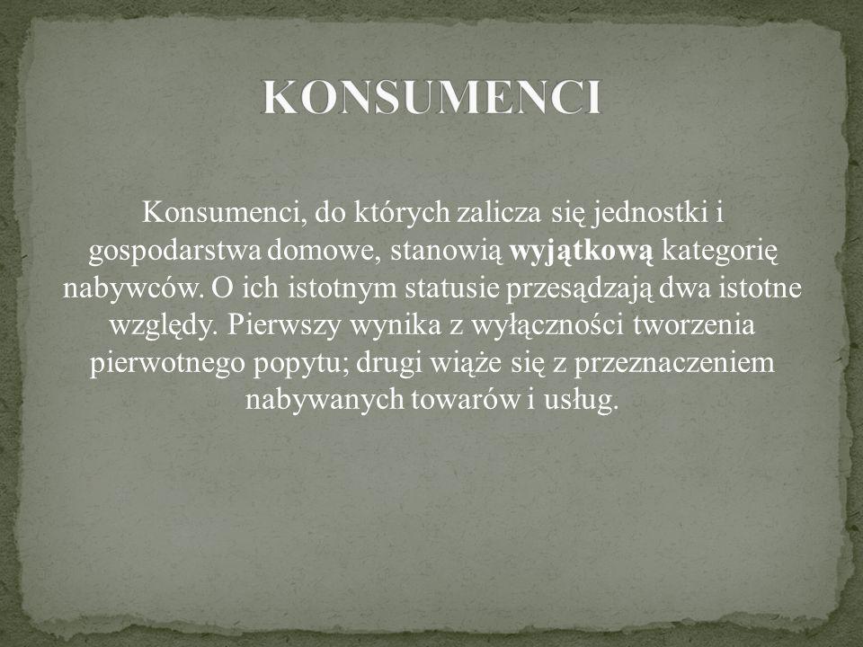 KONSUMENCI