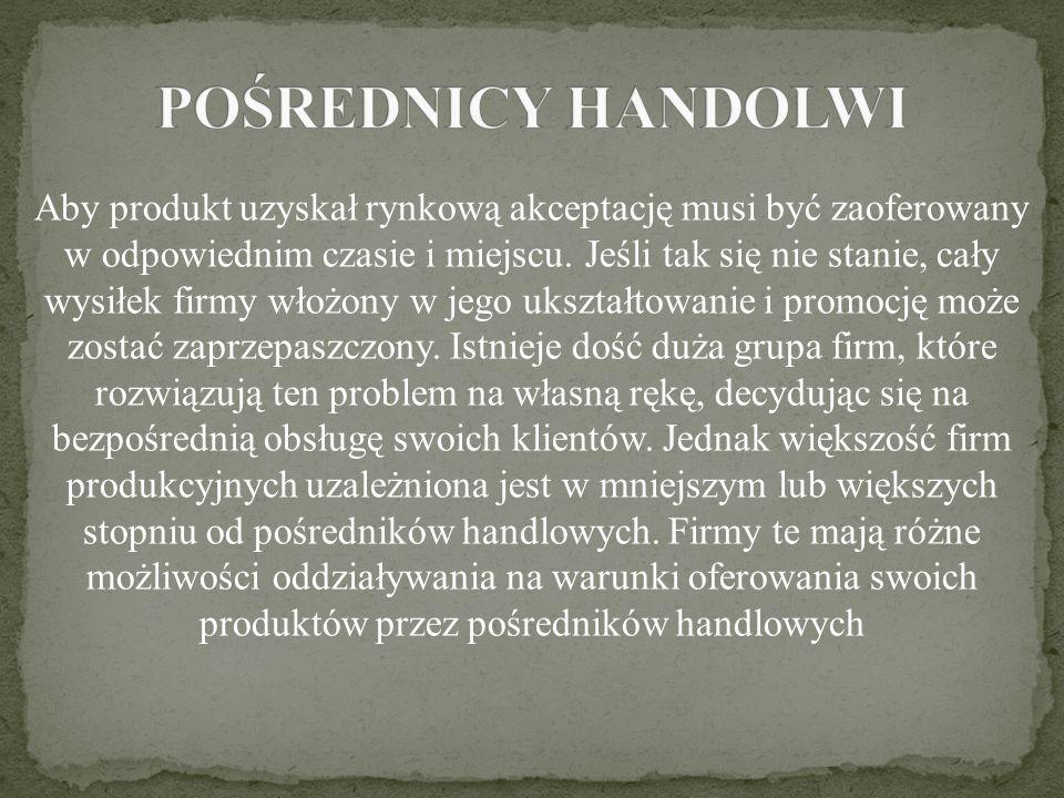 POŚREDNICY HANDOLWI
