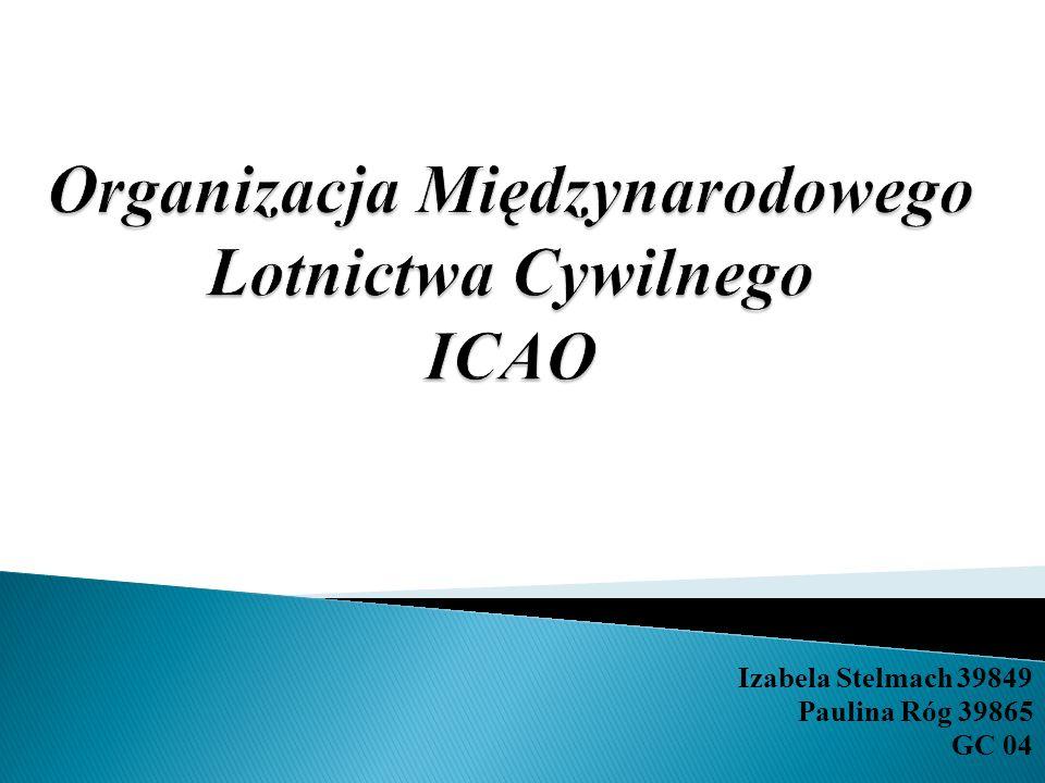 Organizacja Międzynarodowego Lotnictwa Cywilnego ICAO