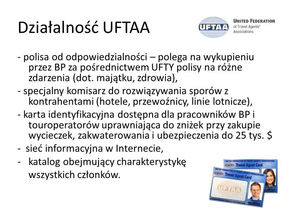 Działalność UFTAA