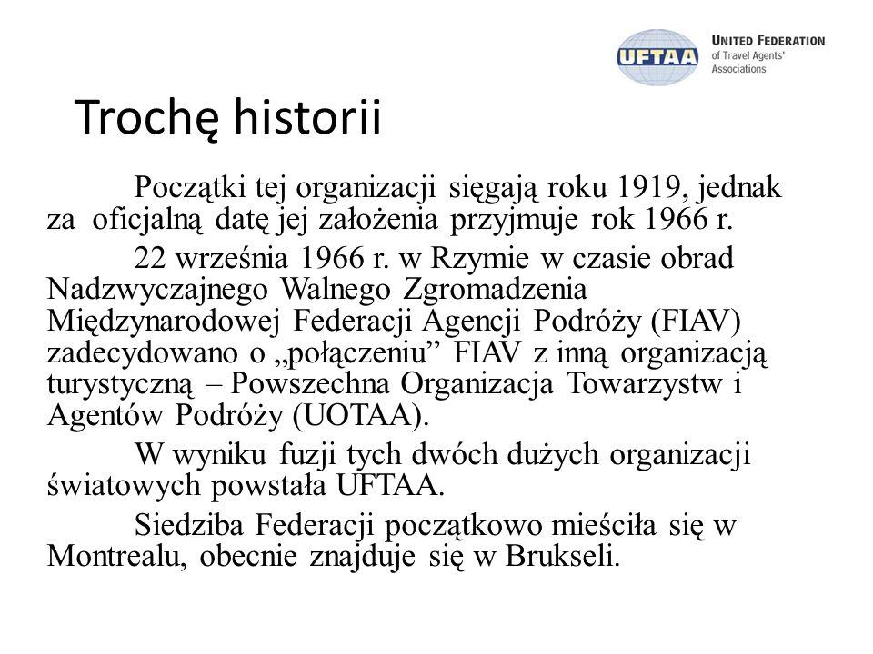 Trochę historii Początki tej organizacji sięgają roku 1919, jednak za oficjalną datę jej założenia przyjmuje rok 1966 r.