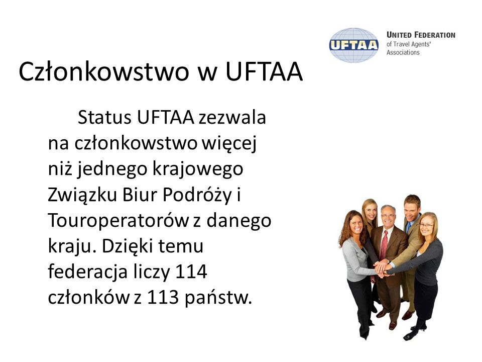 Członkowstwo w UFTAA