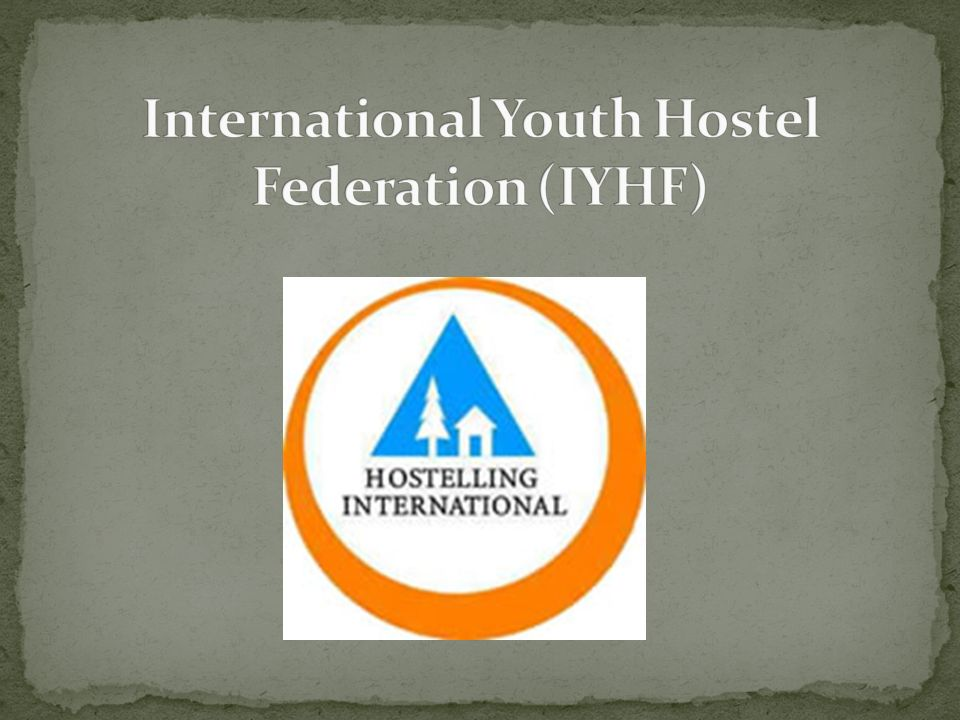 International Youth Hostel Federation (IYHF)