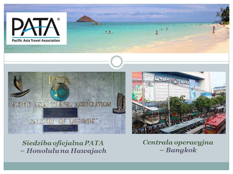 Siedziba oficjalna PATA Centrala operacyjna – Bangkok