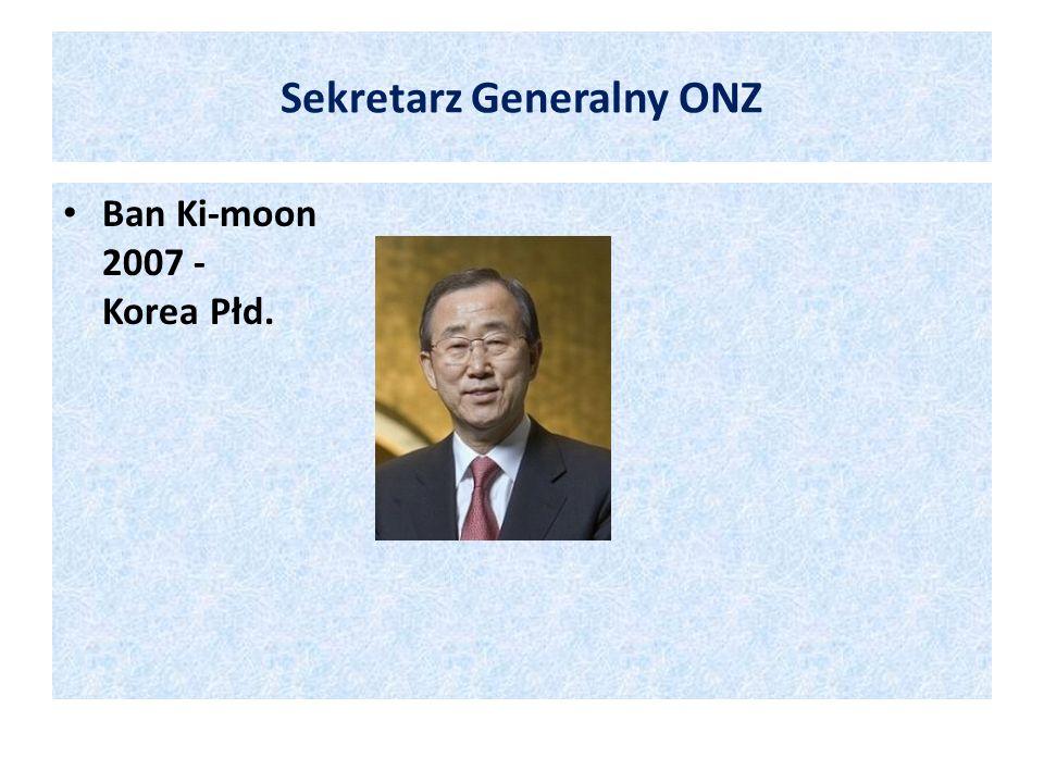 Sekretarz Generalny ONZ