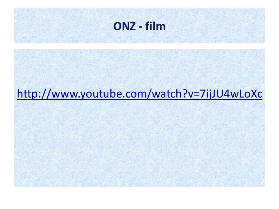 ONZ - film http://www.youtube.com/watch v=7ijJU4wLoXc