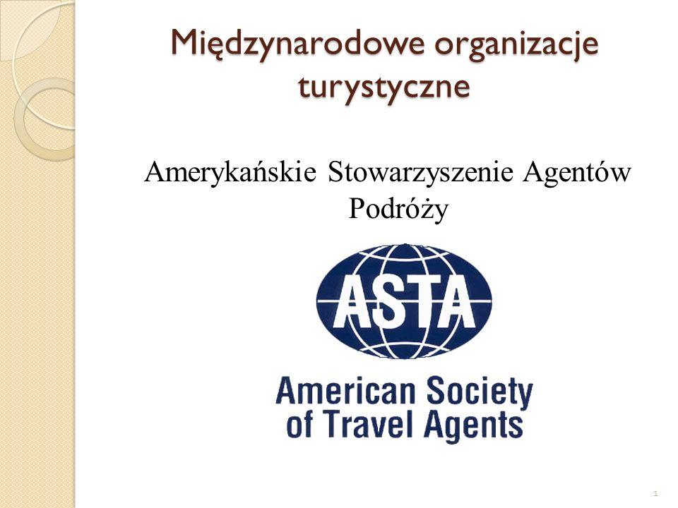 Międzynarodowe organizacje turystyczne