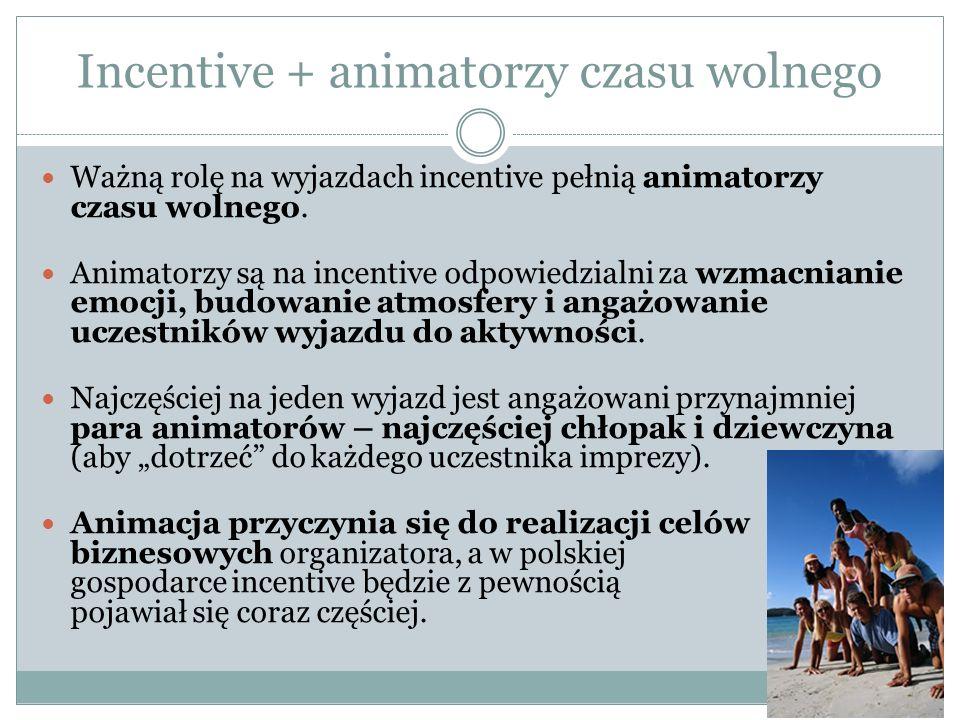 Incentive + animatorzy czasu wolnego